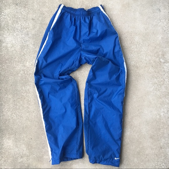 f058af93c Nike Bottoms | Full Zip Side Boys Windbreaker Pants | Poshmark